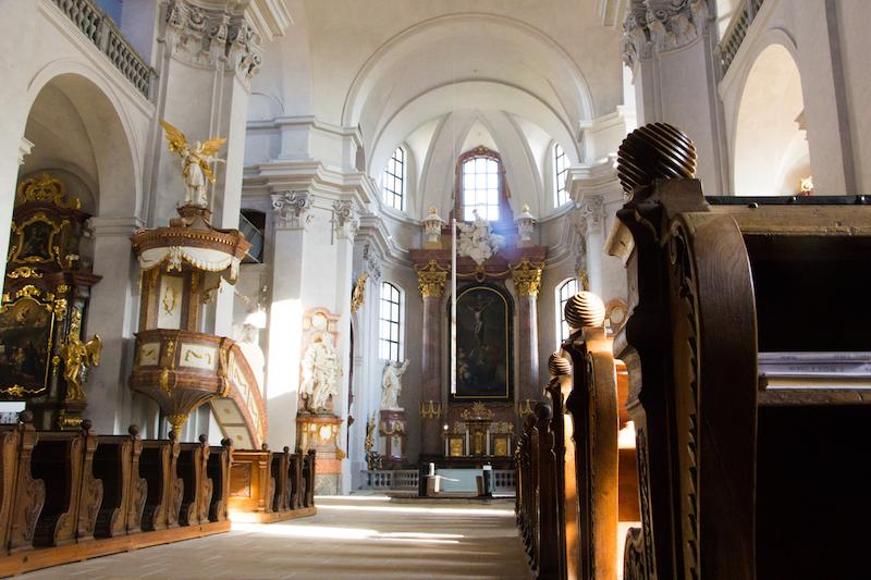 Litomyšl - Kostel Nalezení svatého Kříže